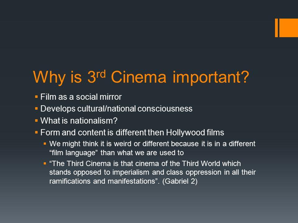 Third (World) Cinema Focus on Filipino/American Film. - ppt download