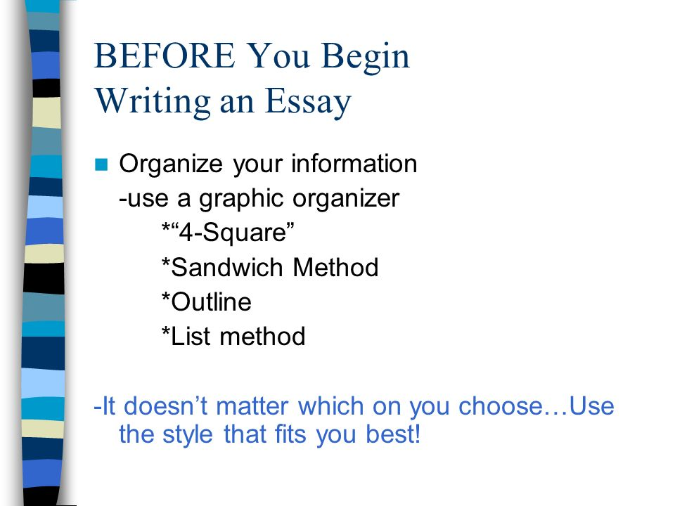 Expository Essay Outline Example