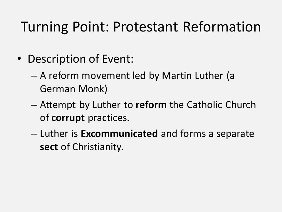 turning point in history martin luther An oral history of the march on washington americans who marched on washington 50 years ago under a blazing sun recall the day they were part of a turning point in history.