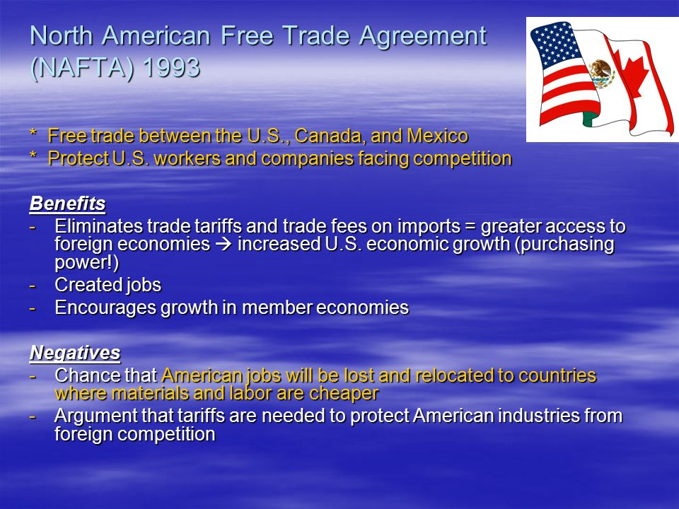 nafta north american free trade