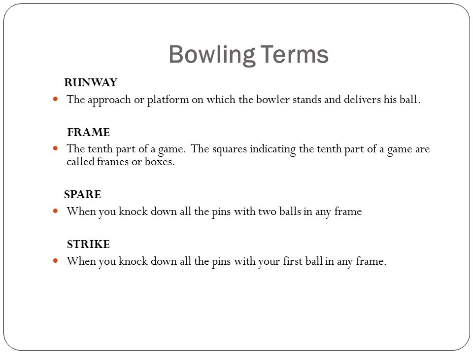 By Mr. Schmidt Bowling. Bowling Etiquette Tip #1 – Observe the foul ...