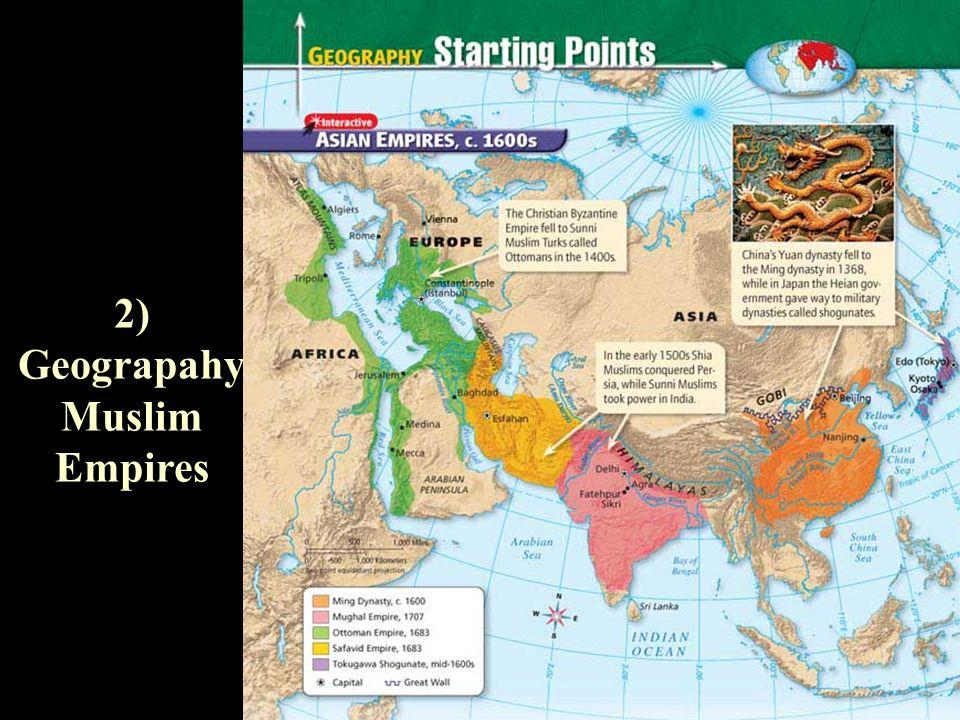 Ap world history muslim gunpowder empires ottomans safavids 4 2 geograpahy muslim empires gumiabroncs Gallery