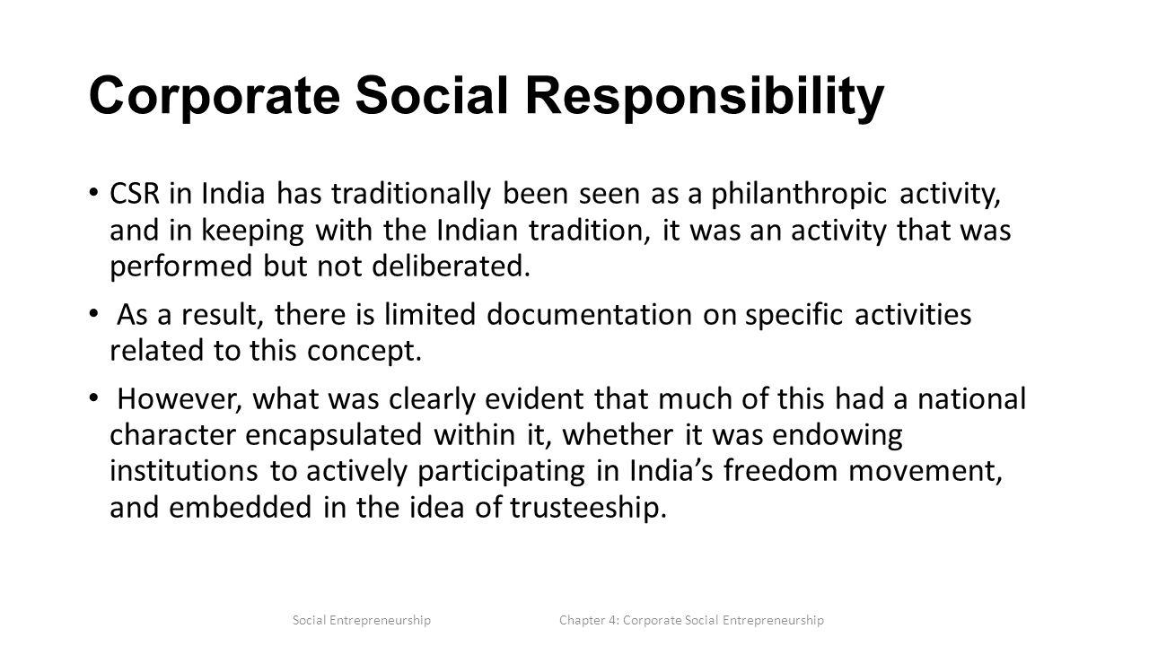 corporate social responsibility task 1