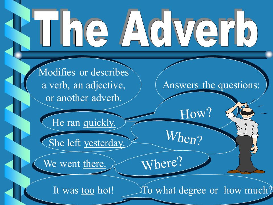 How about an ADVERB
