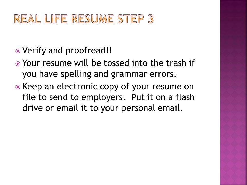 mrs wiley english 120 most people use resumes as a tool