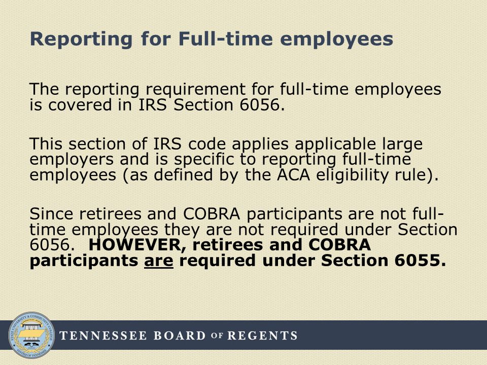 Health Care Reform Information Reporting Under Sections 6055 And