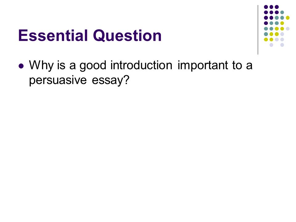 introductions thesis statements attention grabbers counter  7 essential