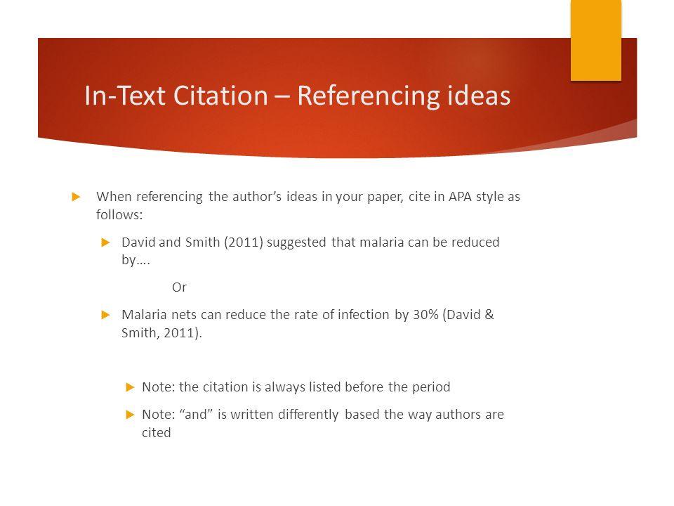 apa style paper citation