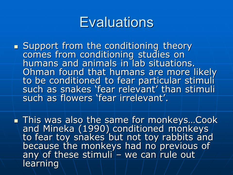 Seligmans theory of preparedness