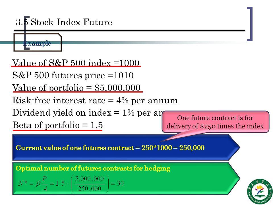 hedging strategies using futures