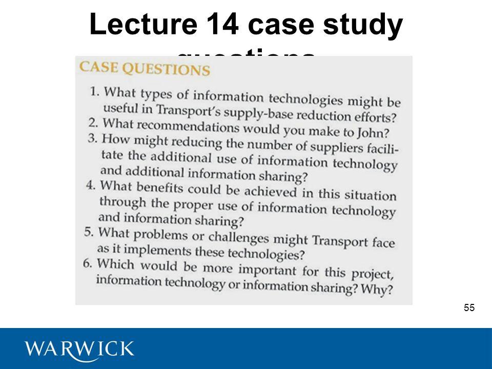 information technology case studies