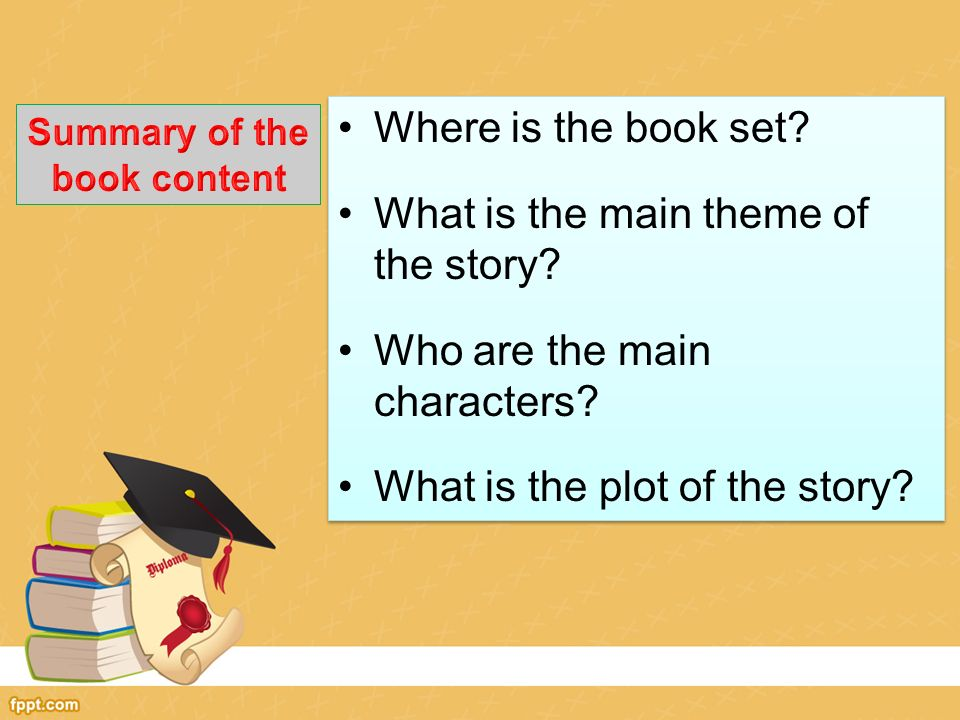 What is the theme of a book?