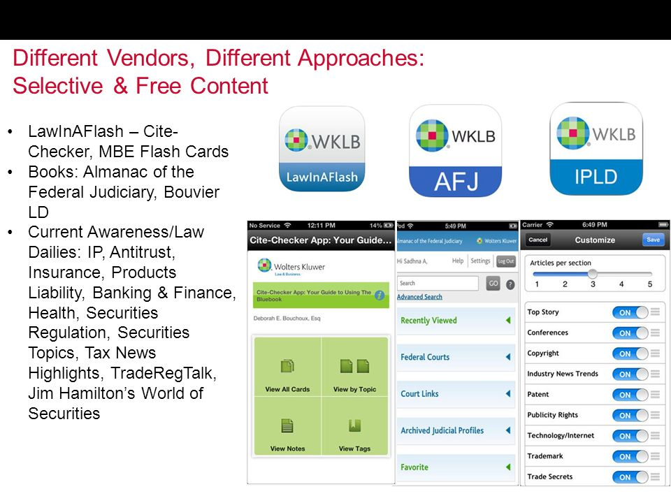 Cloud Computing Mobile Tech Legal Apps By Stosh Jonjak Ppt - Almanac of the federal judiciary