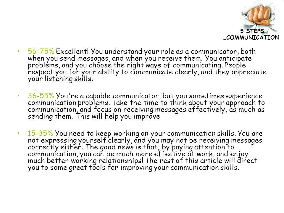 5 steps communication effective communication skills ppt download communication 56 75 excellent sciox Choice Image