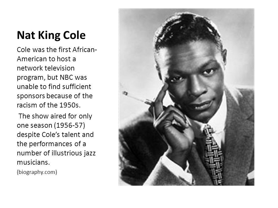 nat king cole biography