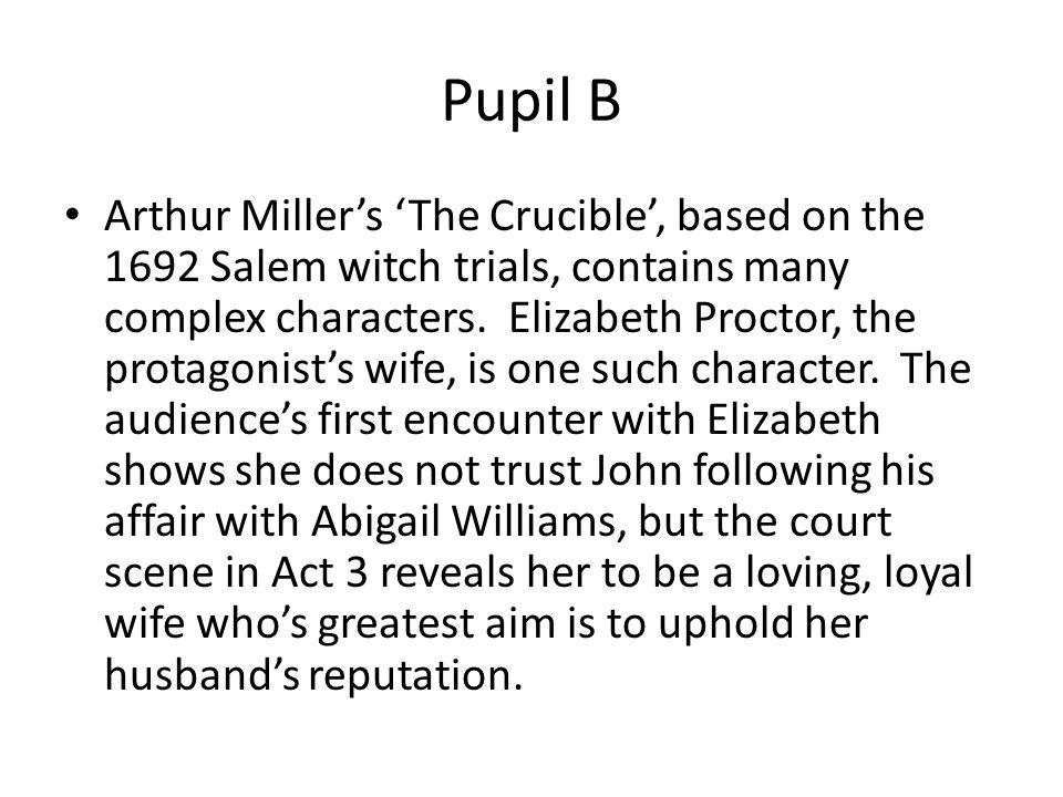 the crucible essays
