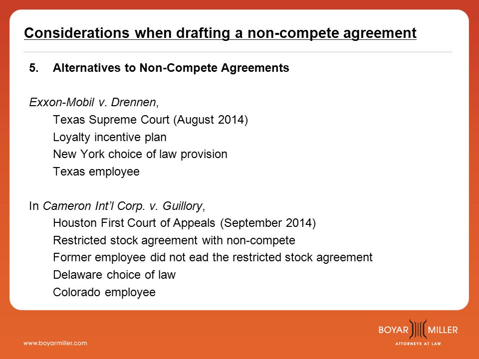 The Before During And After Of Non Compete Agreements Updated