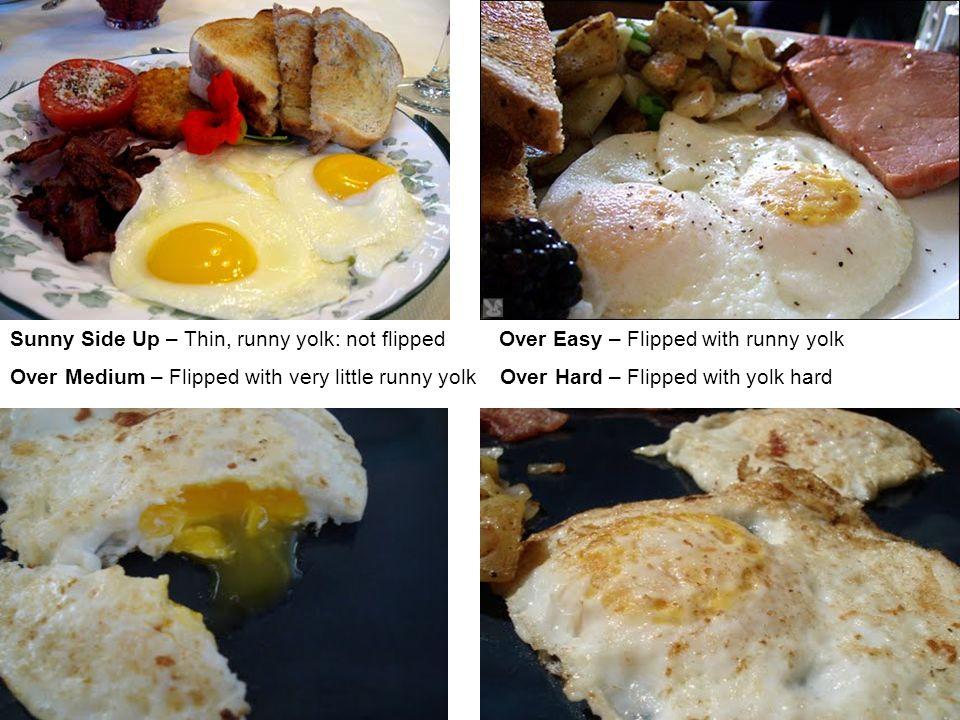 Over Easy Vs Over Medium Eggs