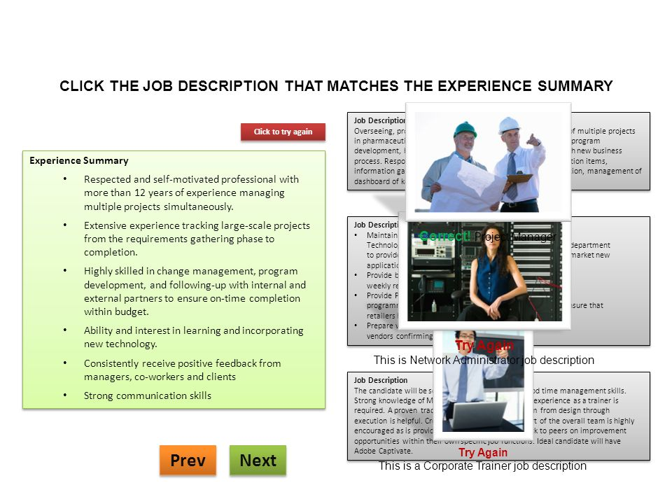 Corporate Trainer Job Description. Pic Bar Staff Cv Template