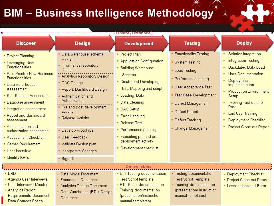 Business intelligence project plan