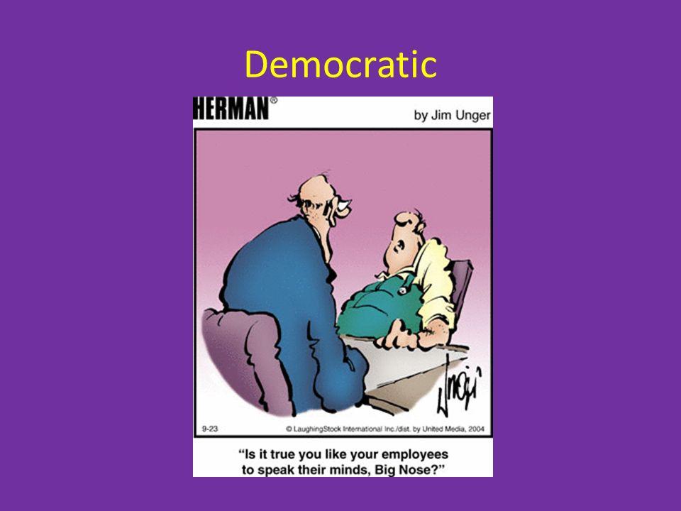 Democratic