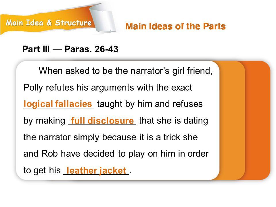 Part III — Paras.
