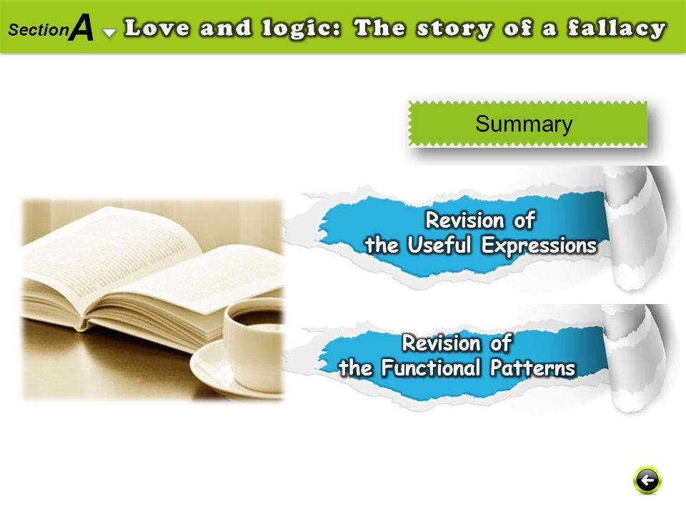 A Section Summary