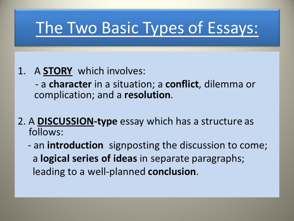 writing an essay three basic steps plan write check  the two basic types of essays 1 a story which involves a