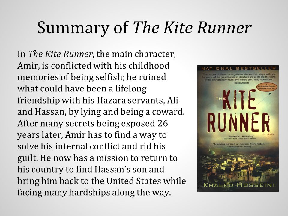 lies the kite runner