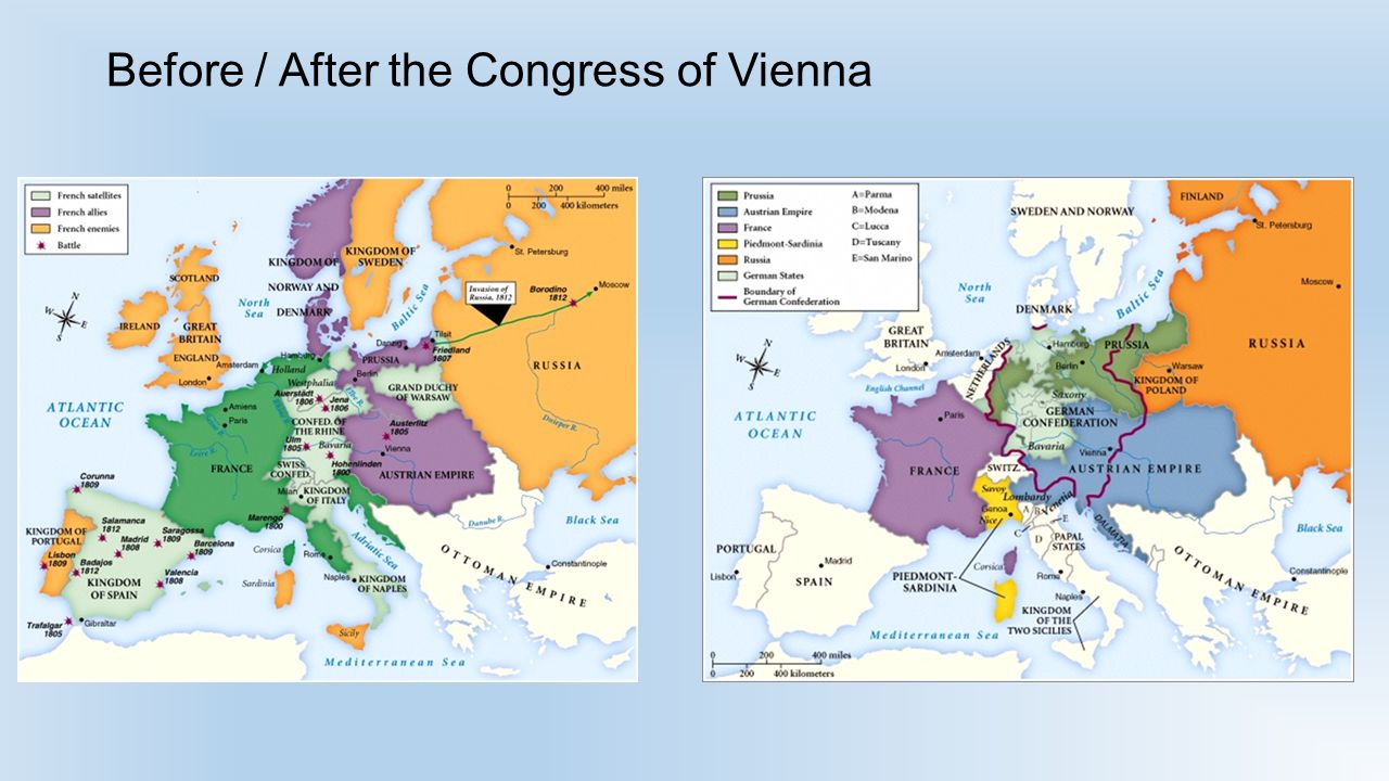 the impact of congress of vienna in shaping europe The 'long 19th century' was a period of relative peace that began arguably with the congress of vienna in european cities, the so-called congress.