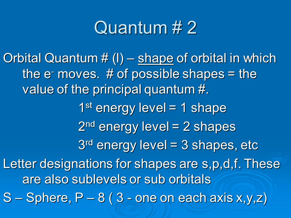 The periodic table the periodic table understand the rationale quantum 2 orbital quantum l shape of orbital in which the urtaz Gallery