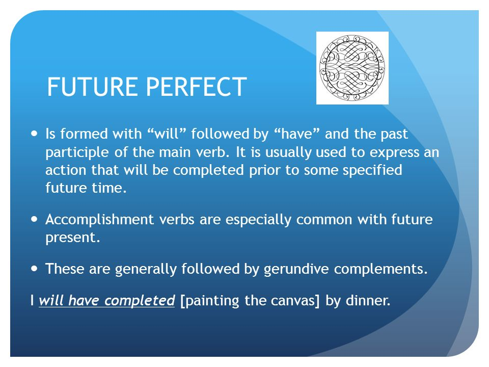 SIMPLE PAST TENSE PAST PROGRESSIVE FUTURE PROGRESSIVE PERFECT ...