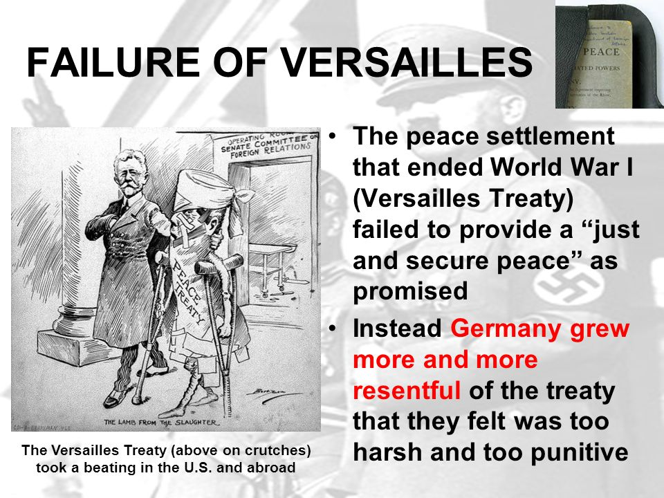 a history of the treaty of versailles a peace treaty signifying the end of world war one What treaty ended world war 1 and punished germany the treaty of versailles was one of the peace treaties at the where was the treaty to end the world war 1.