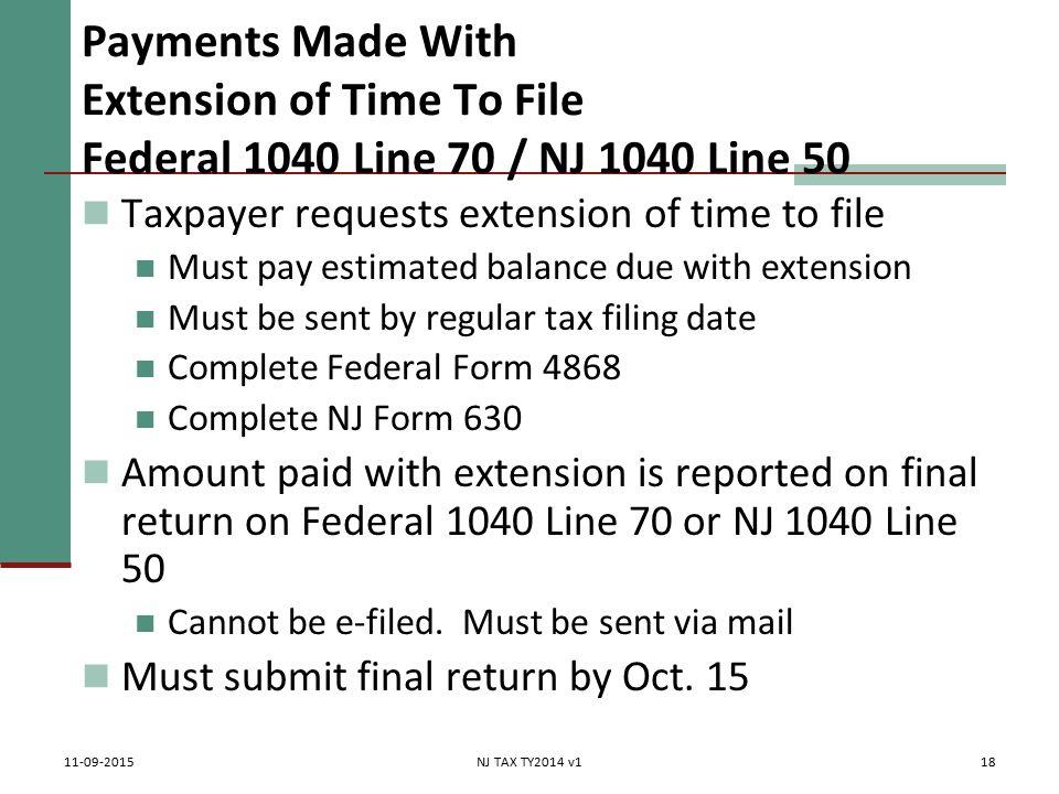Tax Payments Made & Credits Pub 4012 Tab H Pub 17 Chapter 4 ...