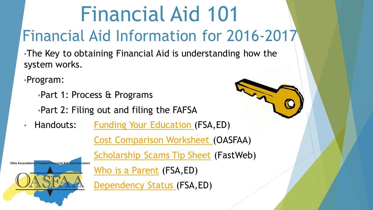 Financial aid 101 financial aid information for the webinar will 5 financial robcynllc Choice Image