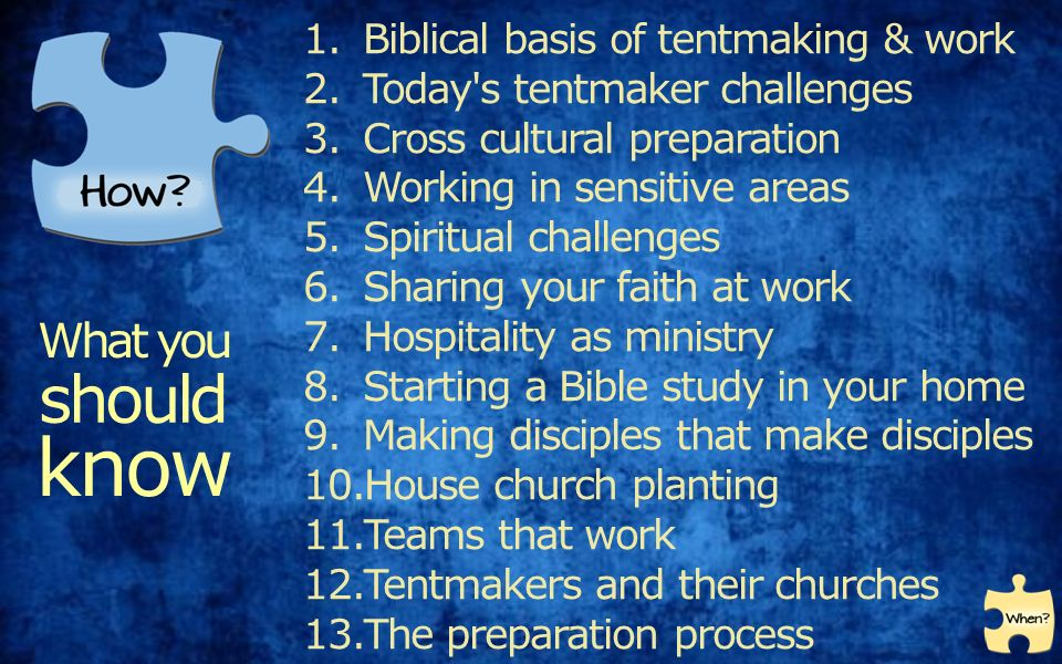 15 1.Biblical basis of tentmaking ...  sc 1 st  SlidePlayer & Tentmaking u2013 an introduction professionals - business people ...
