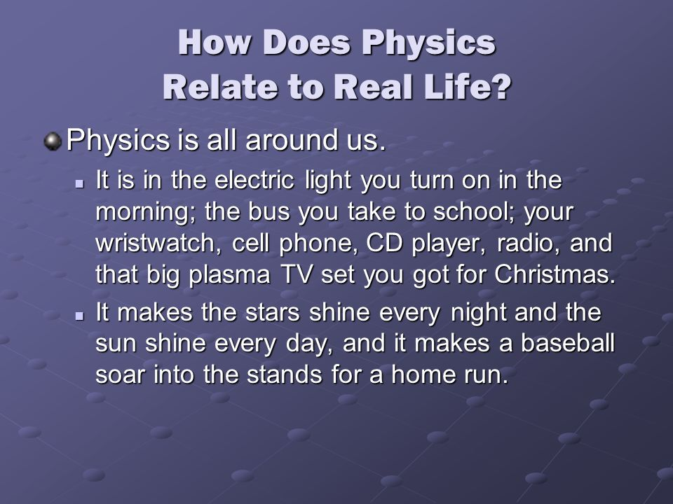 What is physics? and should i take it?