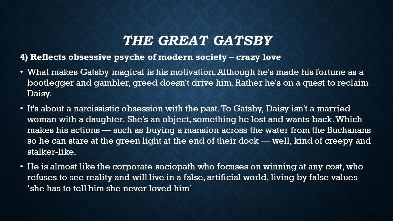 the great gatsby exam