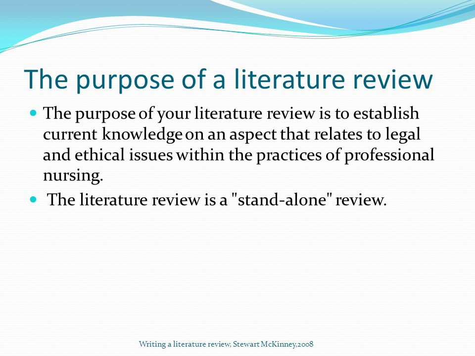 writing a literature review paper Abstract this paper discusses the question about how to write a literature review paper (lrp) it stresses the primary importance of adding value, rather than only providing an overview, and.