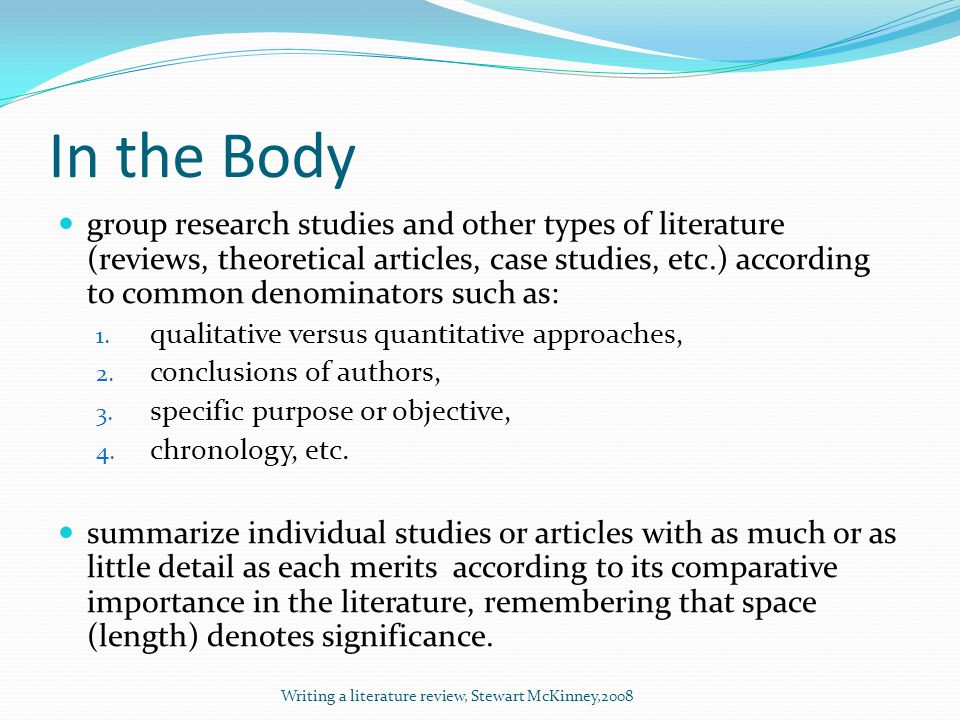Literature review quantitative research research proposal tips for writing literature review by Elisha Bhandari