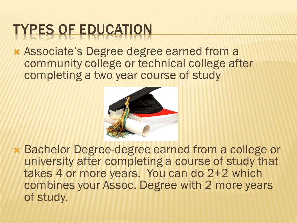 degree earned in college