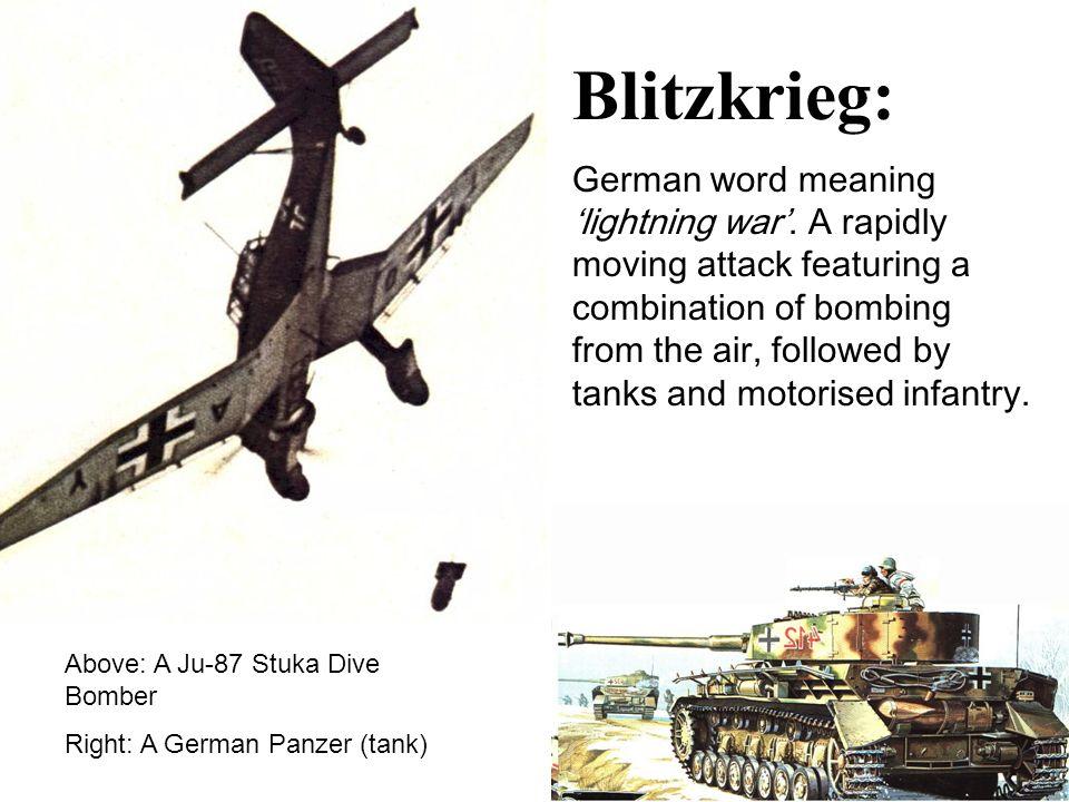 German Meaning Of Lightning War Blitzkrieg German word meaning