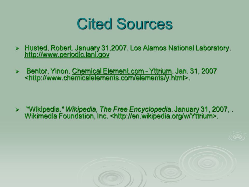 Yttrium Yttrium Atomic Number 39 Atomic Symbol Y Ppt Download