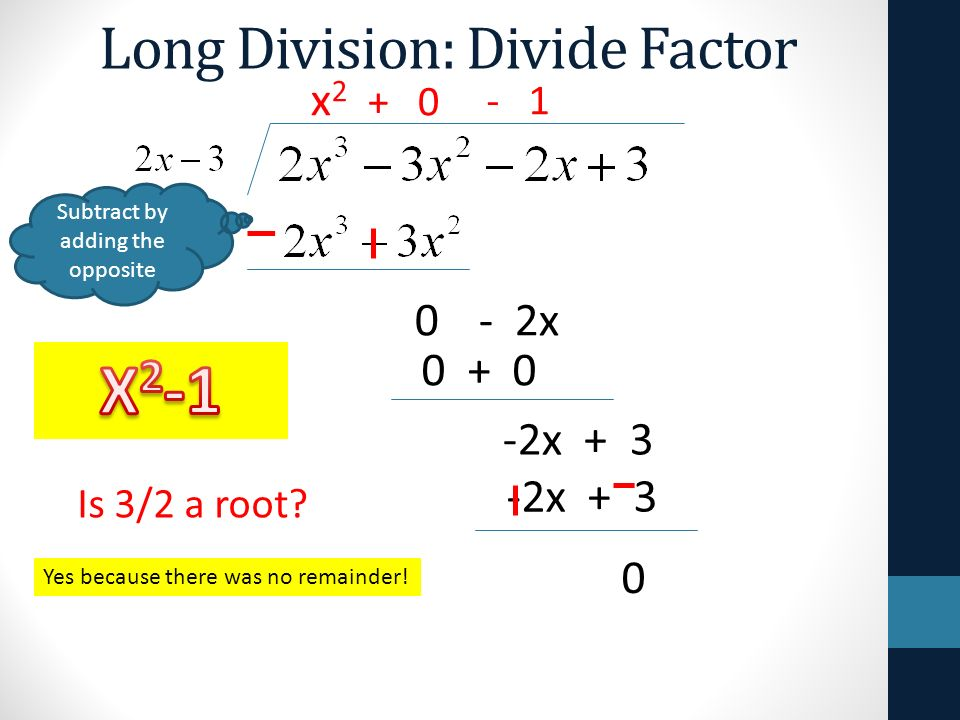 Long division synthetic division remainder theorem can only divide 2 long division divide factor ccuart Images