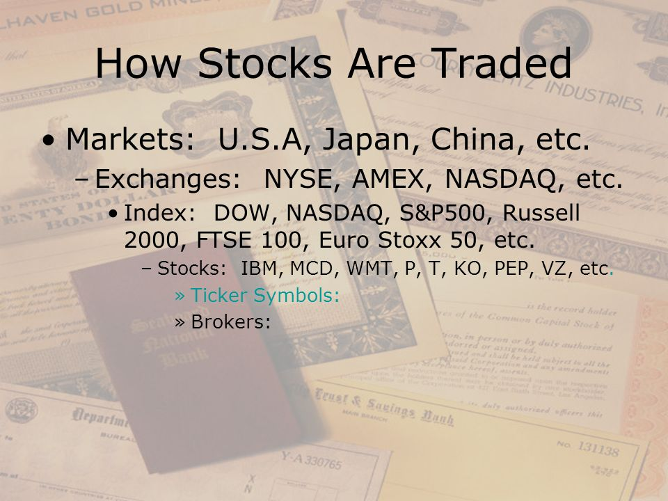 Russell 2000 Index Ticker Symbol Image Collections Meaning Of This