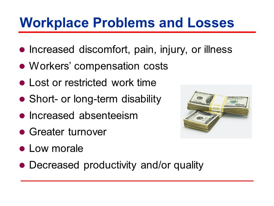 workplace problems In the course of a business day, or while doing company-related projects, there will be issues that arise in some cases, issues can be avoided or dealt with efficiently through comprehensive planning prior to executing a project other situations require workplace problem solving skills from.