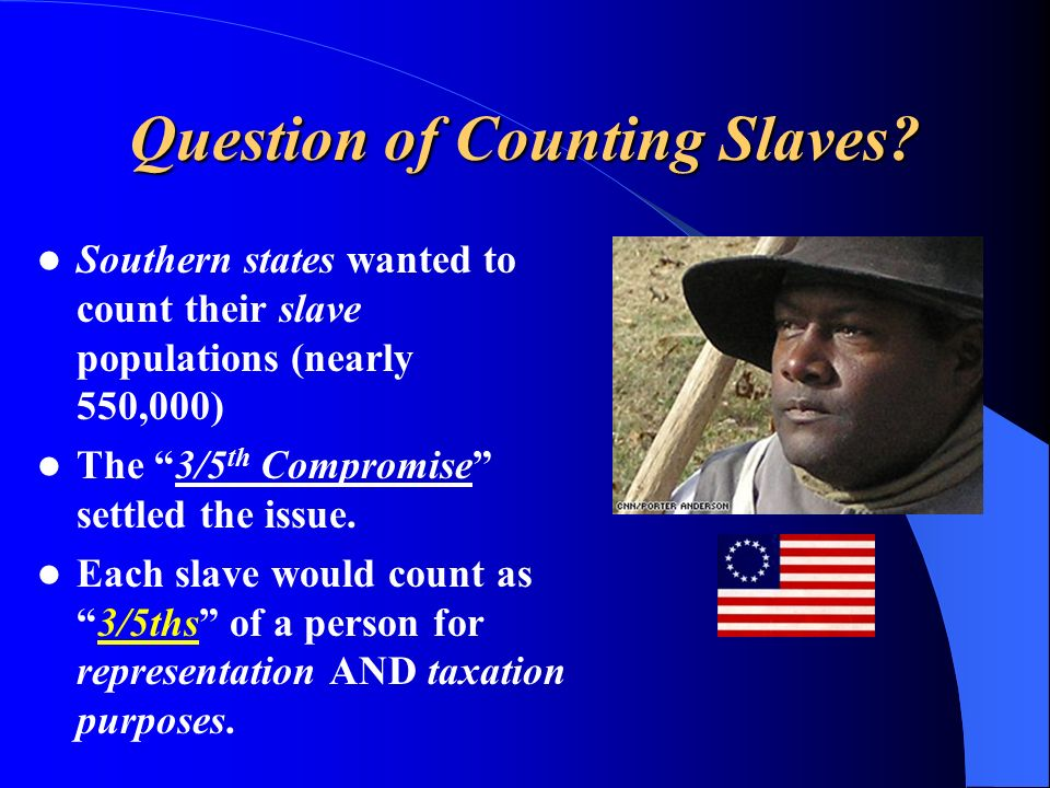 Question of Counting Slaves.