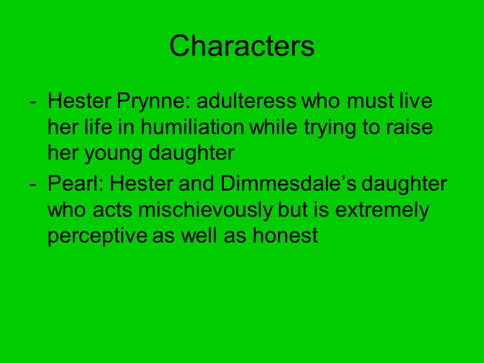 the liberation of hester prynne in the scarlet letter by nathaniel hawthorne
