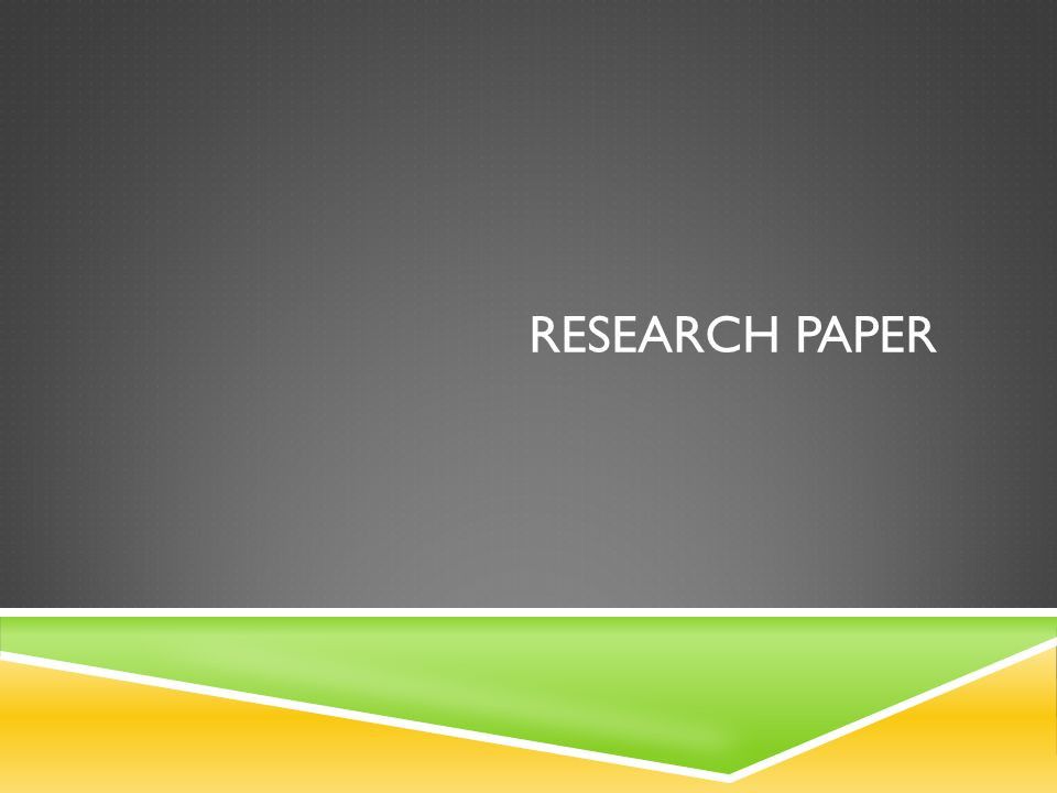Sample Outline For Apa Style Research Paper