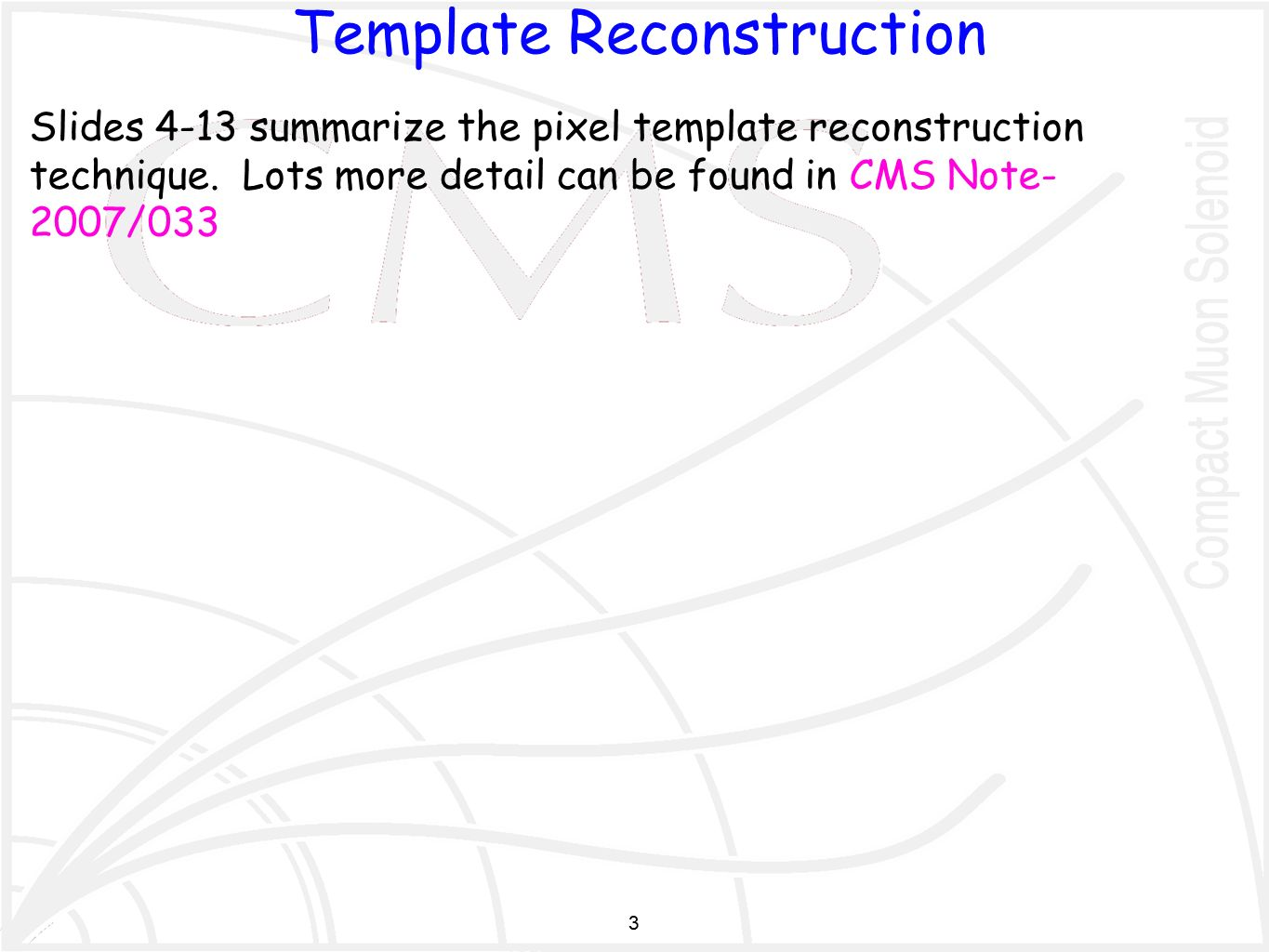 1 pixel cluster splitting using templates d. fehling, g. giurgiu, Presentation templates